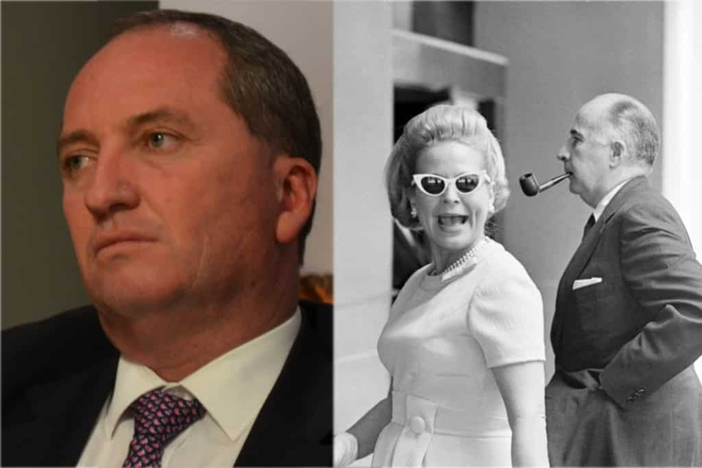 Barnaby Joyce by Apple and Pear Australia Ltd, Martha Mitchell and John Mitchell